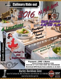 Culinary Ride Out 2016
